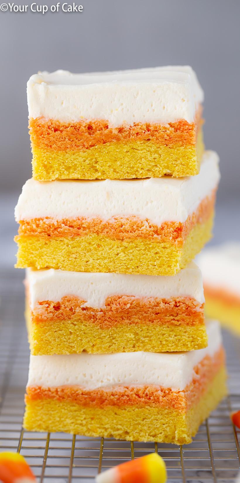Estoy enamorado de esta receta. LAS MEJORES barras de galletas de azúcar y maíz dulce