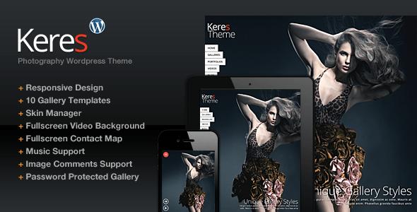Keres WordPress Theme