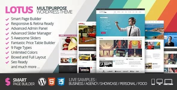 Lotus WordPress Theme