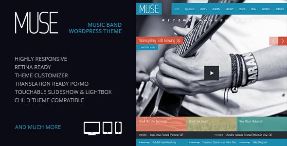 Muse WordPress Theme