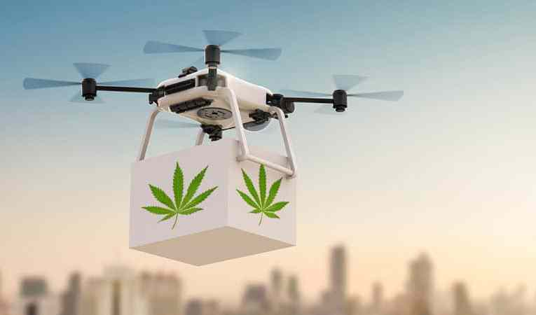 Drone Makes Cannabis Rain In Tel Aviv