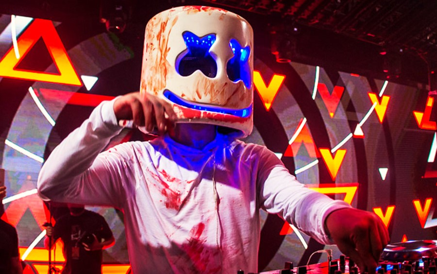 Marshmallow Face Reveal Dj