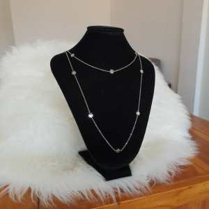 collier femme double chaine