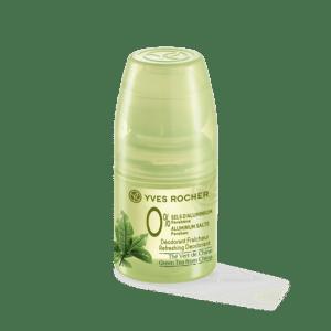 Déodorant fraicheur thé vert de chine