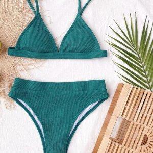 Bikini triangle taille haute