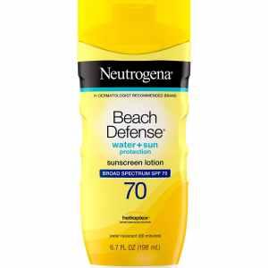 lotion protection solaire visage spf 70 neutrogena beach defense