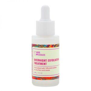 serum-nuit-exfoliant overnight exfoliating treatment good molecules