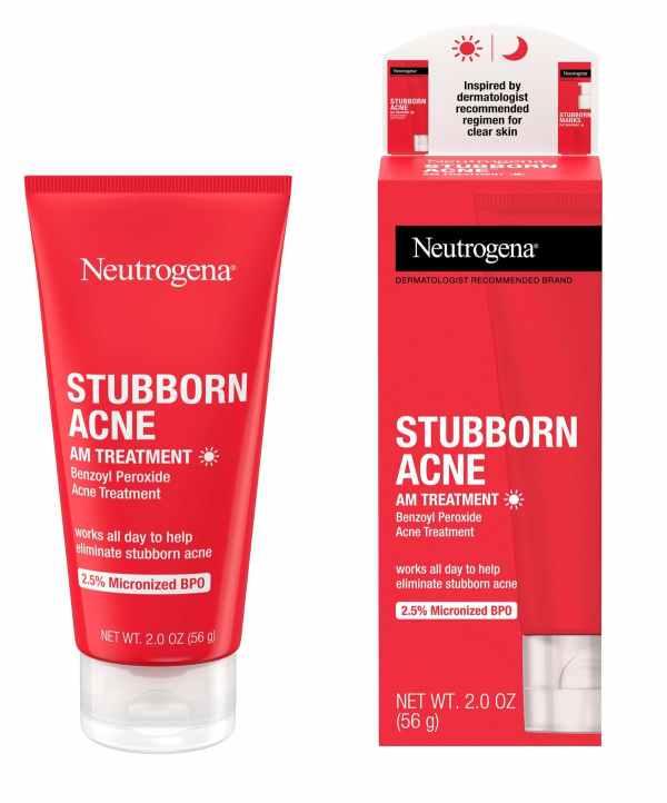 creme anti acne stubborn acne neutrogena