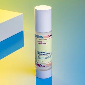 crème hydratante + base de maquillage good molecules