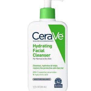 nettoyant visage hydratant peau sèche