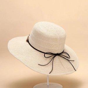 chapeau de plage femme coton