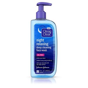 nettoyant nuit clean and clear