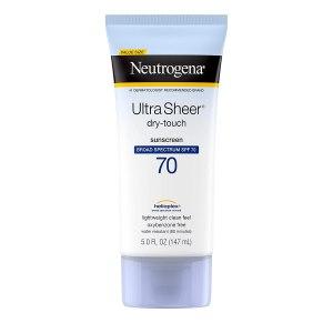 crème solaire neutrogena ultra sheer