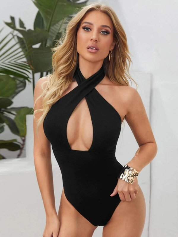 bodysuit dos nu femme