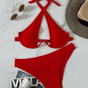 bikini sexy rouge femme