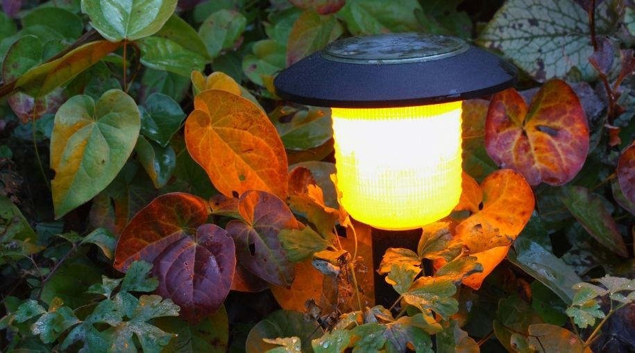 diy outdoor lighting without