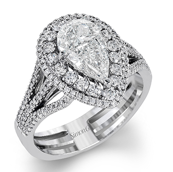 Brand New Marquise And Pear Shaped Diamond Rings By Simong