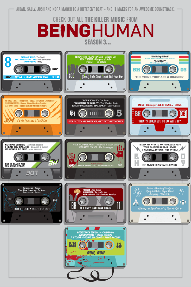 being human cassette tapes