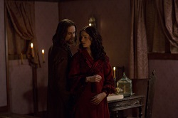 John (Shane West) pays Mary (Janet Montgomery) a night time visit proving there's a thin line between love and hate.