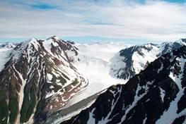 Aerial America - Alaska (mountain peaks)
