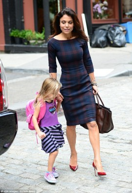 Bethenny and four-year-old daughter Bryn