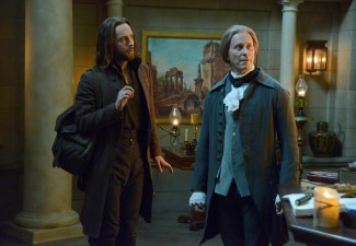 Ichabod and Jefferson have history - Jefferson even credits Ichabod as being a founding father.