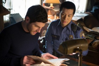 Nick and Wu do a little research to try and find out how to stop the Excandesco
