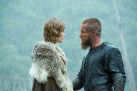 Tensions rise between Auslug (Sutherland) and Ragnar (Fimmel).
