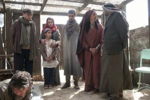 Daliyah, Ahmos, Kassim, Munir (Nathan Clarke),  Ghani (Yousef Naseer), and Nasrin (Amira Ghazalla) talk about Barry's fate.