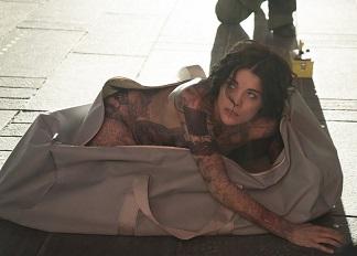 "BLINDSPOT -- ""Pilot"" -- Pictured: Jaimie Alexander as Jane Doe -- (Photo by: Virginia Sherwood/NBC)"
