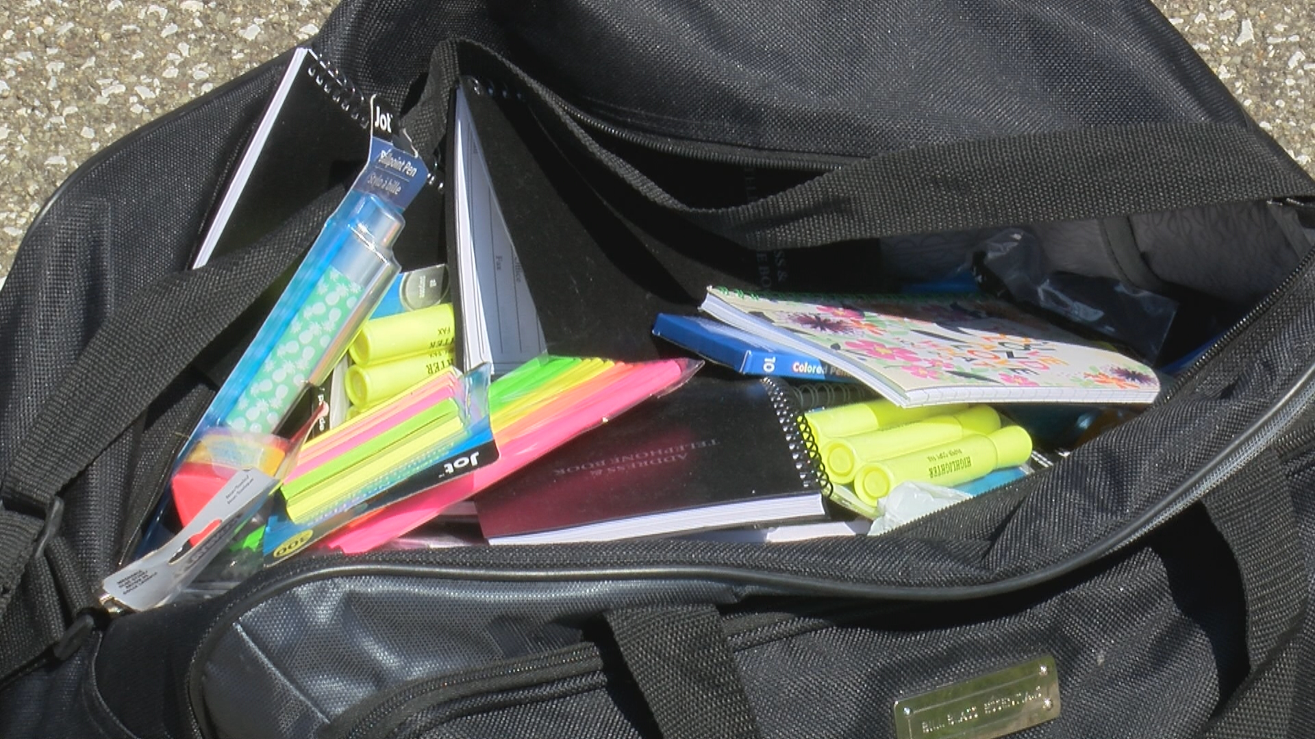 More than 500 students get free backpacks and school supplies
