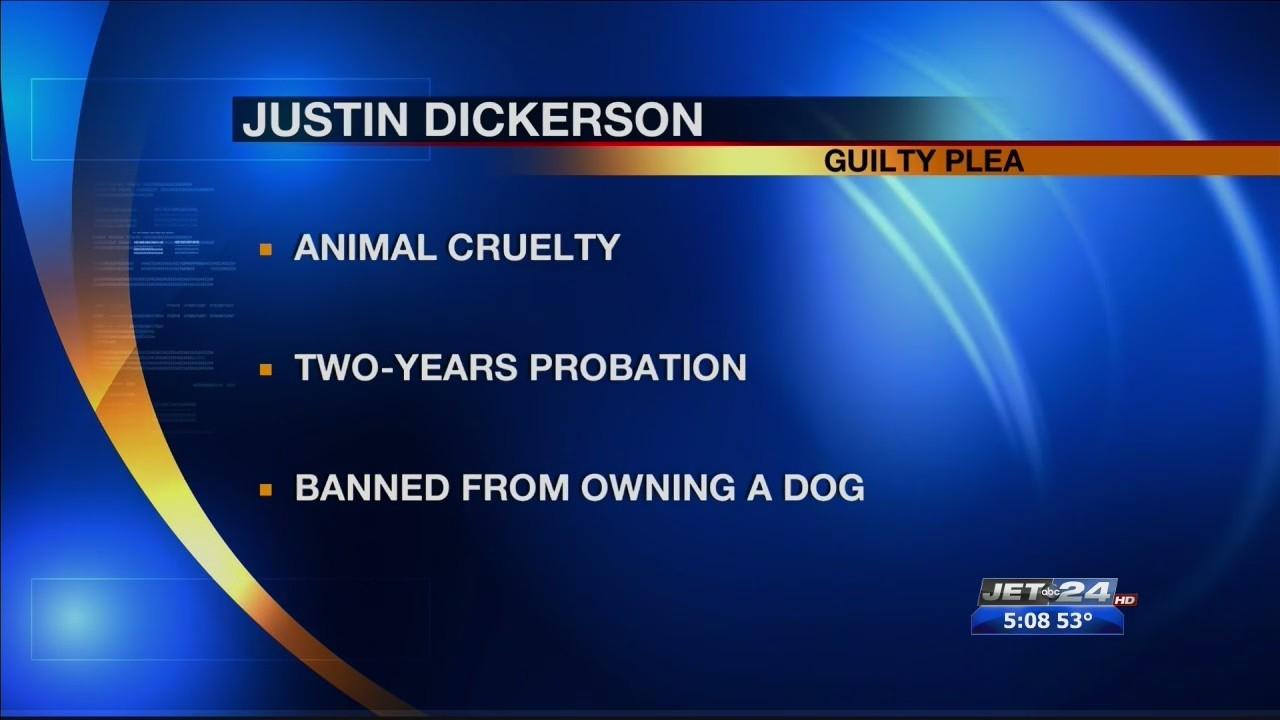Dickerson Guilty Plea