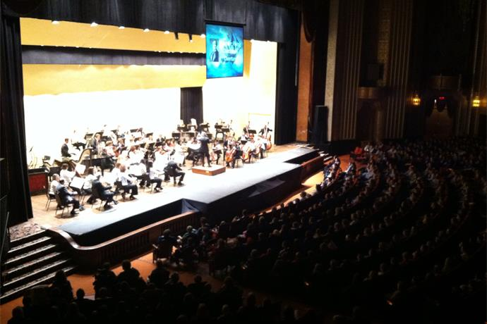 Erie Philharmonic Performs Storm Chaser Concert for Students_591590129880418269