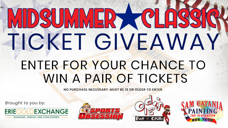 The Mid-Summer Classic Ticket Sweepstakes | WJET/WFXP