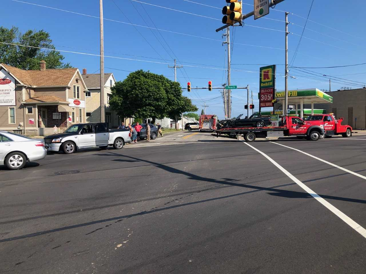 Police on Scene of a Three Car Accident | WJET/WFXP/YourErie com