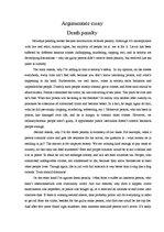capital punishment essay against | Docoments Ojazlink