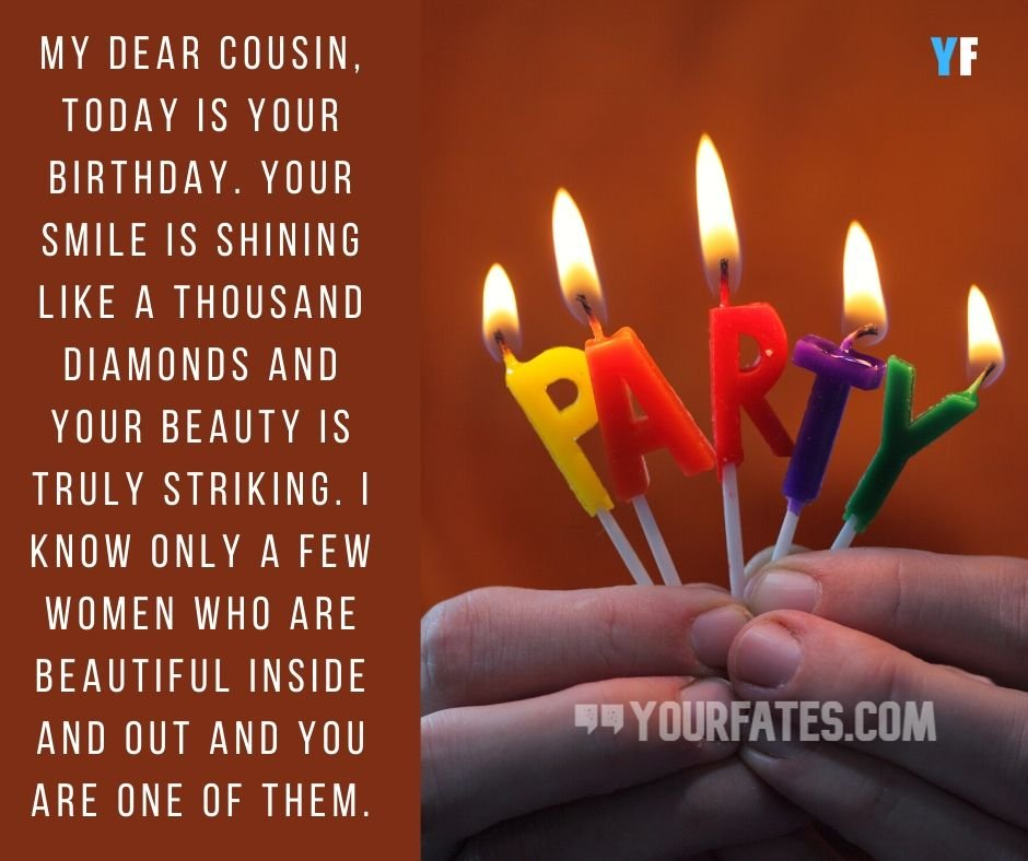 100 Best Happy Birthday Wishes For Cousin With Images Yourfates