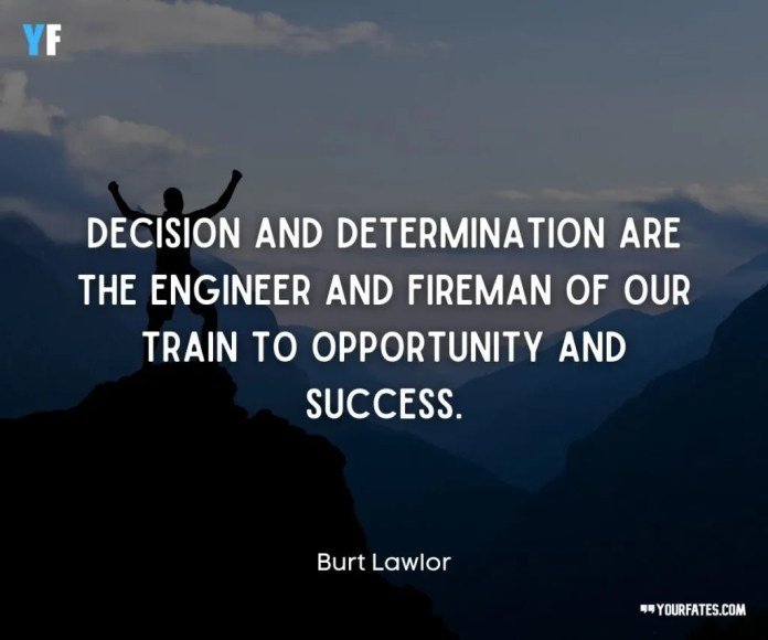 strong determination quotes