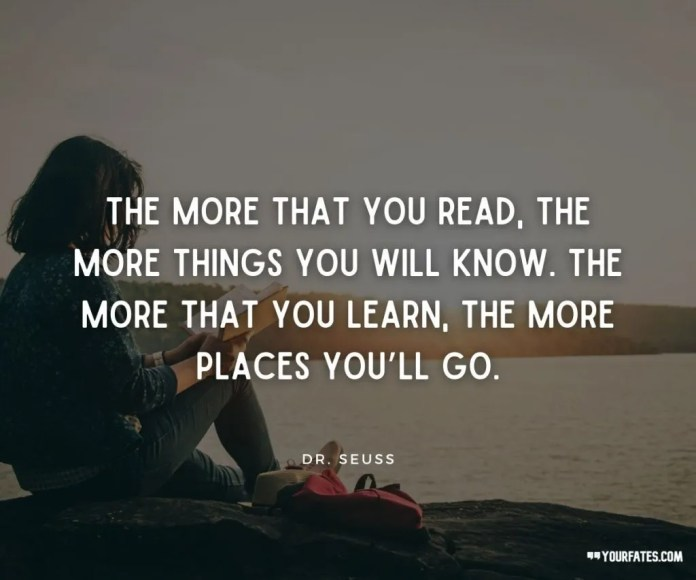 reading quotes by dr seuss
