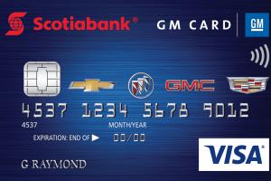 Scotiabank® GM®* VISA* Card-Product Image