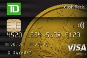 TD Cash Back Visa Infinite* Card