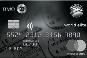 BMO AIR MILES®† World Elite®* Mastercard®*-Product Image