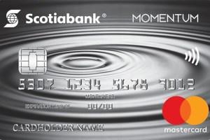 Scotia Momentum® Mastercard®* Credit Card-Product Image