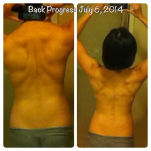 Latest progress on my back
