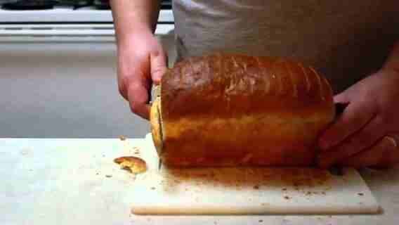 How To Slice Homemade Bread