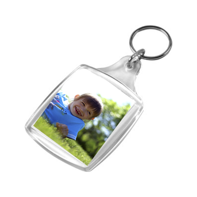 Personalised Photo Keyring, Photo Keyrings, Double Sided ...