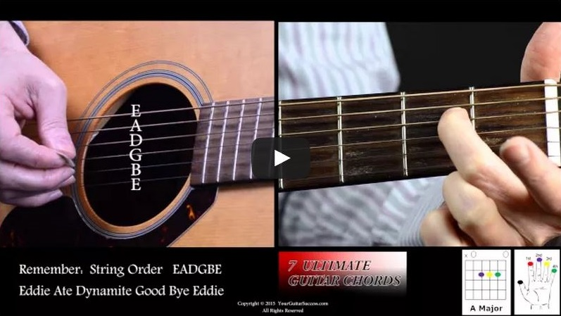 7 Ultimate Guitar Chords For Beginners Course Lesson 6