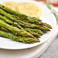 Lemon Herb Oven-Roasted Asparagus