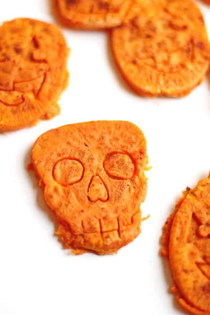 "Halloween Sweet potato ""Cookies"""