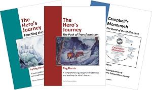 Three Hero's Journey Covers